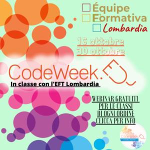 Settimana del coding in Lombardia